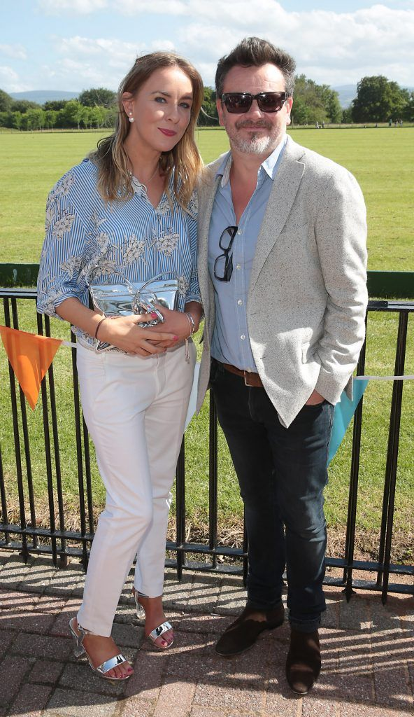 Sinead Keane and Derek Dillon Fiona Fitzsimons and Darren Warren at the June Party in the Park at the Phoenix Park Polo Club to raise funds for the Irish Motor Neurone Disease Association. Picture by Brian McEvoy