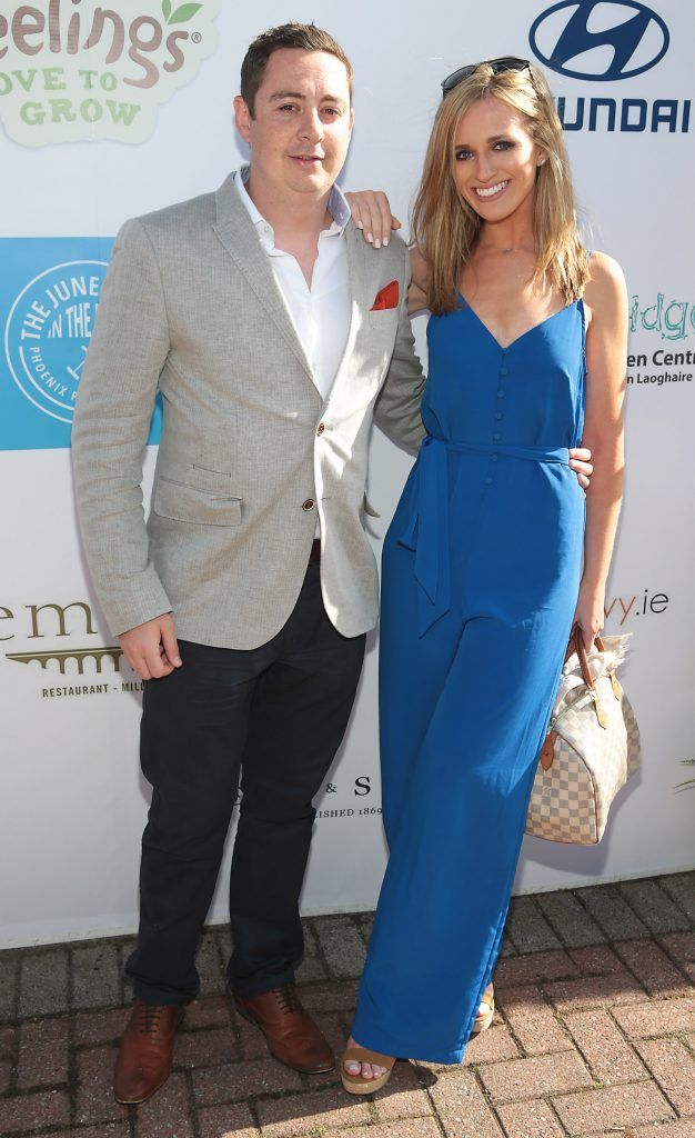 David Steacy and Eleanor O Dwyer Duggan Fiona Fitzsimons and Darren Warren at the June Party in the Park at the Phoenix Park Polo Club to raise funds for the Irish Motor Neurone Disease Association. Picture by Brian McEvoy
