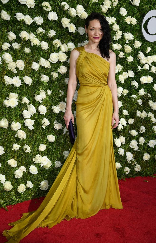 Katrina Lenk attends the 2017 Tony Awards at Radio City Music Hall on June 11, 2017 in New York City.  (Photo by Dimitrios Kambouris/Getty Images for Tony Awards Productions)