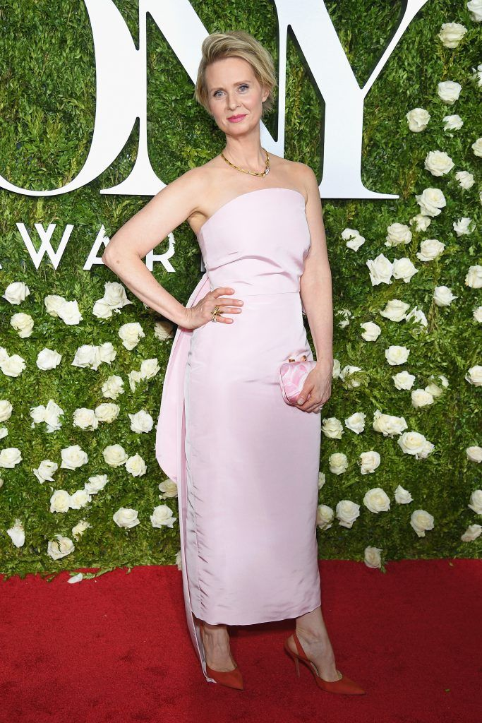 Cynthia Nixon attends the 2017 Tony Awards at Radio City Music Hall on June 11, 2017 in New York City.  (Photo by Dimitrios Kambouris/Getty Images for Tony Awards Productions)