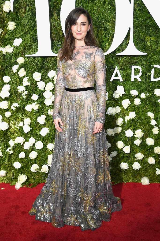 Sara Bareilles attends the 2017 Tony Awards at Radio City Music Hall on June 11, 2017 in New York City.  (Photo by Dimitrios Kambouris/Getty Images for Tony Awards Productions)