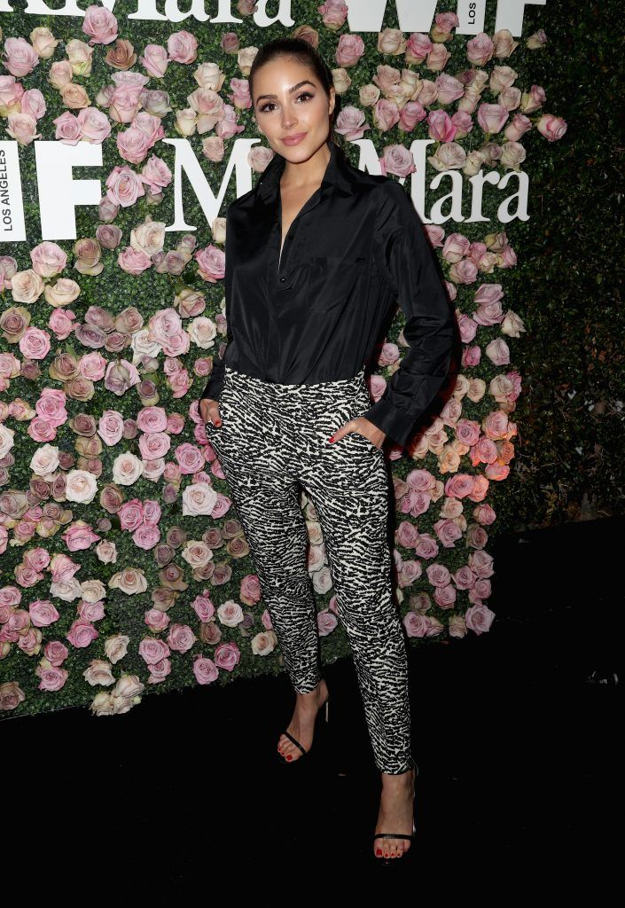 Actor Olivia Culpo attends Max Mara Celebration of Zoey Deutch as The 2017 Women In Film Max Mara Face of The Future Award Recipient at Chateau Marmont on June 12, 2017 in Los Angeles, California.  (Photo by Frederick M. Brown/Getty Images)