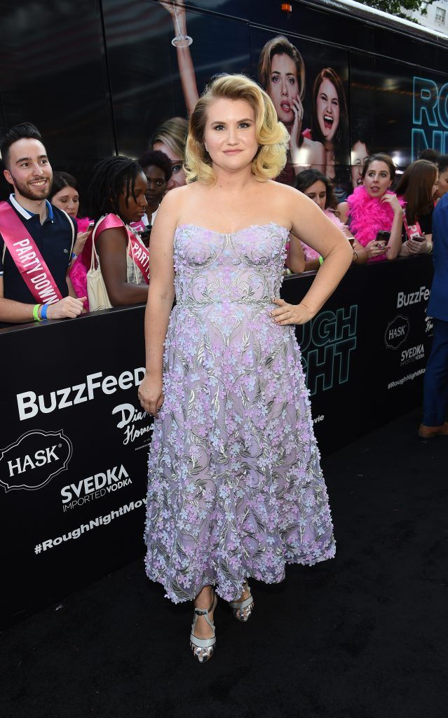 Actress Jillian Bell attends New York Premiere of Sony's ROUGH NIGHT presented by SVEDKA Vodka  at AMC Lincoln Square Theater on June 12, 2017 in New York City.  (Photo by Jamie McCarthy/Getty Images for SVEDKA Vodka)