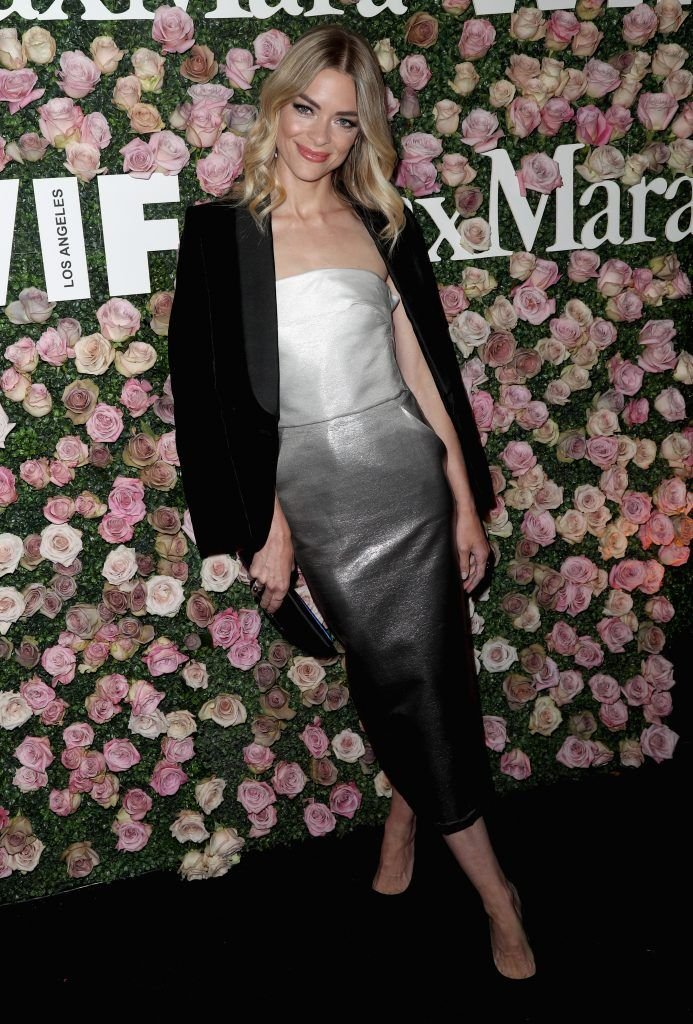 Actor Jaime King attends Max Mara Celebration of Zoey Deutch as The 2017 Women In Film Max Mara Face of The Future Award Recipient at Chateau Marmont on June 12, 2017 in Los Angeles, California.  (Photo by Frederick M. Brown/Getty Images)