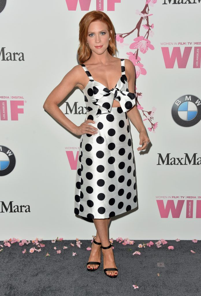 Actor Brittany Snow attends the Women in Film 2017 Crystal + Lucy Awards Presented by Max Mara and BMW at The Beverly Hilton Hotel on June 13, 2017 in Beverly Hills, California.  (Photo by Frazer Harrison/Getty Images)
