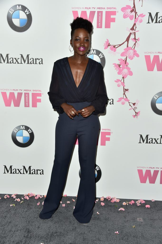 Actor Lupita Nyong'o  attends the Women in Film 2017 Crystal + Lucy Awards Presented by Max Mara and BMW at The Beverly Hilton Hotel on June 13, 2017 in Beverly Hills, California.  (Photo by Frazer Harrison/Getty Images)