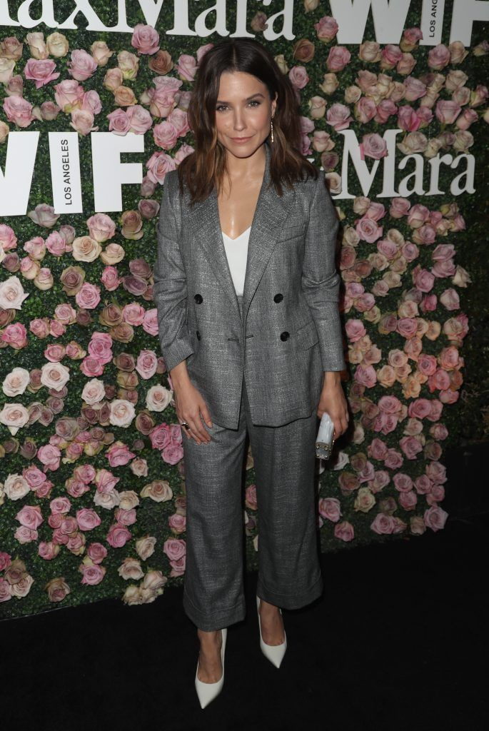Actor Sophia Bush attends Max Mara Celebration of Zoey Deutch as The 2017 Women In Film Max Mara Face of The Future Award Recipient at Chateau Marmont on June 12, 2017 in Los Angeles, California.  (Photo by Frederick M. Brown/Getty Images)