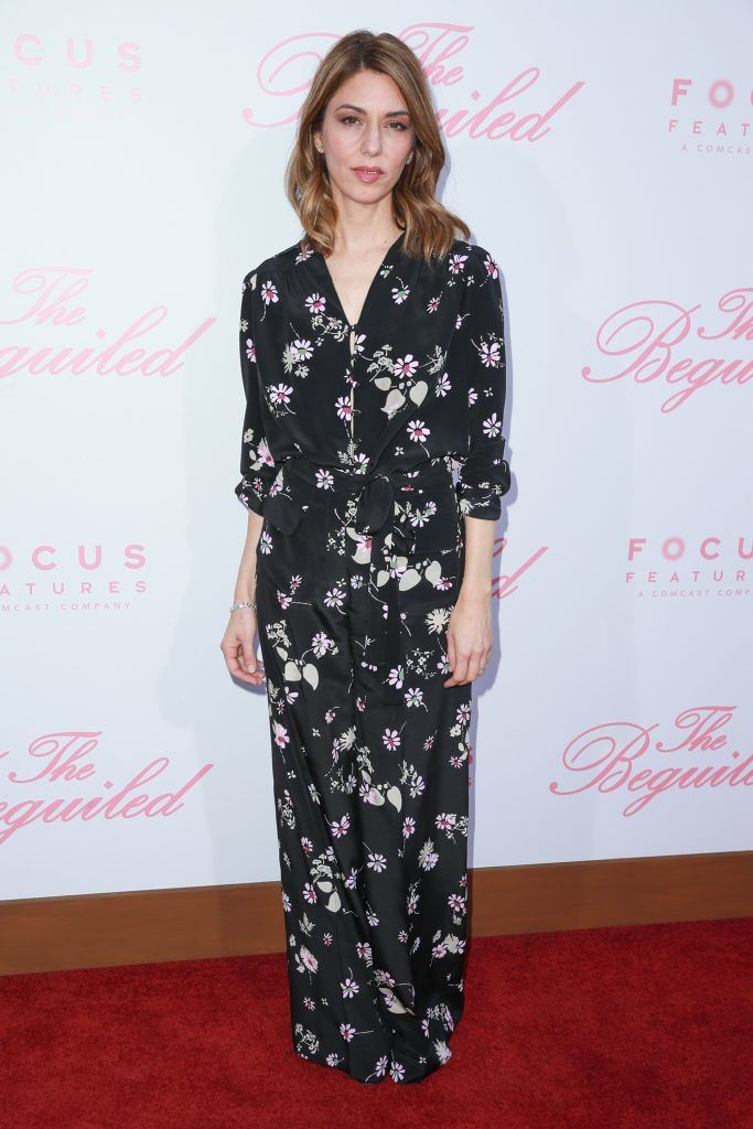 """Director Sofia Coppola attends the premiere of Focus Features' """"The Beguiled"""" at Directors Guild Of America on June 12, 2017 in Los Angeles, California.  (Photo by Rich Fury/Getty Images)"""