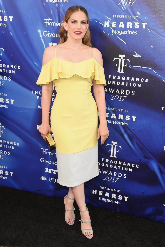 Anna Chlumsky attends the 2017 Fragrance Foundation Awards Presented By Hearst Magazines at Alice Tully Hall on June 14, 2017 in New York City.  (Photo by Nicholas Hunt/Getty Images for Fragrance Foundation)