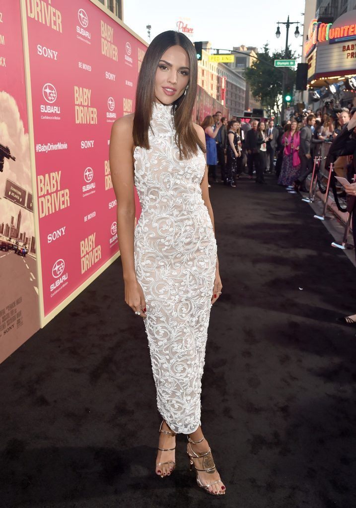 """Actress Eiza Gonzalez attends the premiere of Sony Pictures' """"Baby Driver"""" at Ace Hotel on June 14, 2017 in Los Angeles, California.  (Photo by Alberto E. Rodriguez/Getty Images)"""