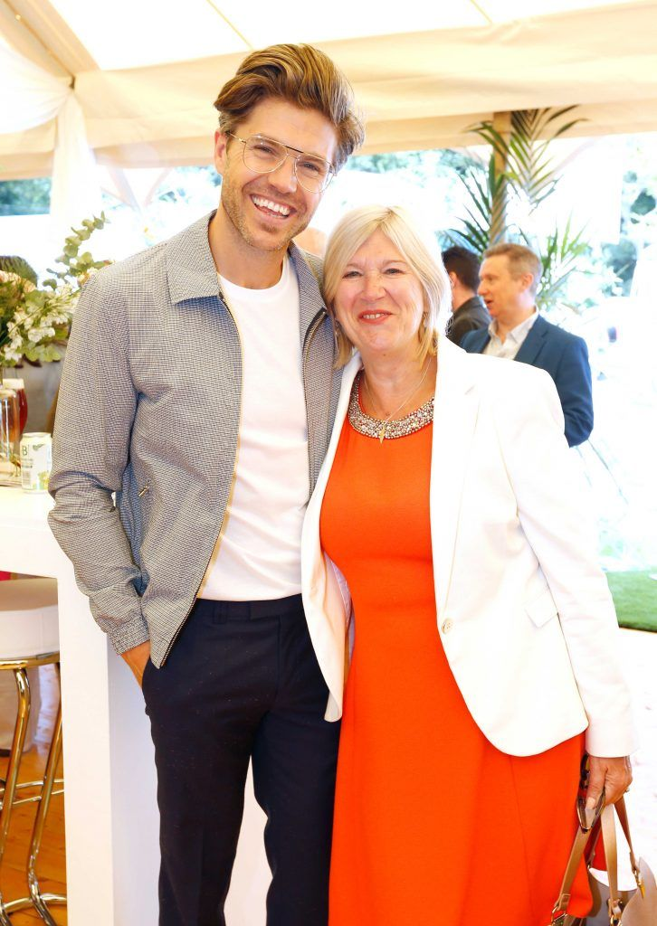 Pictured are Valerie and Darren Kennedy at Taste 2017 taking place in the Iveagh Gardens, Dublin. The event features the best of the Irish food and drink scene over four days, with more than 35,000 people attending. Photo: Sasko Lazarov/Photocall Ireland