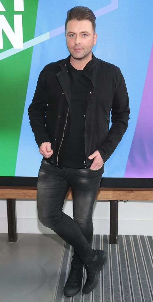 Markus Feehily at the GAZE LGBT Film Festival special 25th anniversary programme launch hosted by lead sponsor Accenture at The Dock, Dublin. Picture by Brian McEvoy