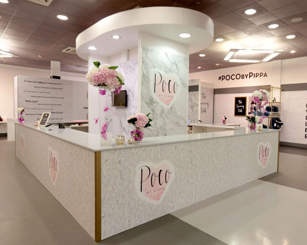 Pippa O'Connor's POCO by Pippa Pop Up shop at Mahon Point Shopping Centre, Cork. Picture: Brian McEvoy