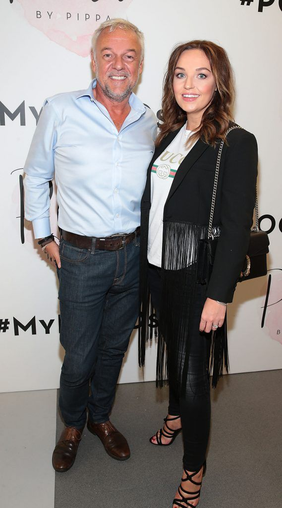 Conrad Jones and Ellen Jones at the opening of Pippa O'Connor's POCO by Pippa Pop Up shop at Mahon Point Shopping Centre, Cork. Picture: Brian McEvoy