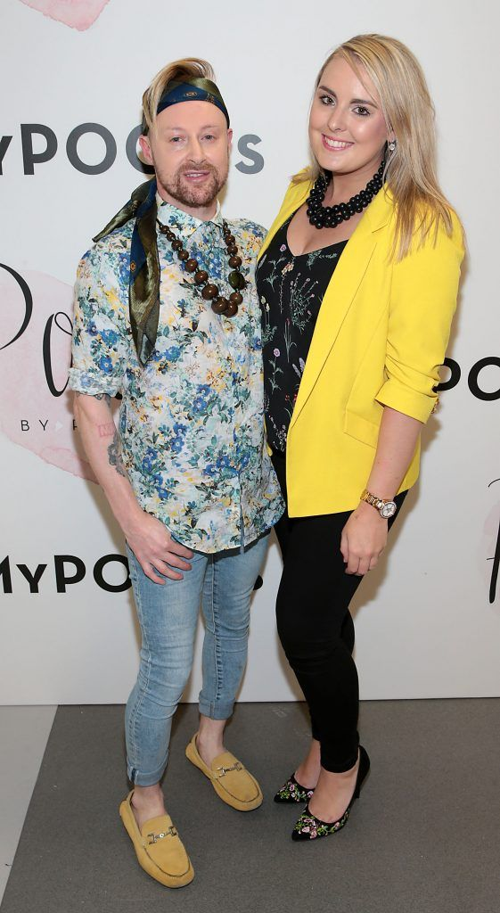 David Babington and Niamh Hester at the opening of Pippa O'Connor's POCO by Pippa Pop Up shop at Mahon Point Shopping Centre, Cork. Picture: Brian McEvoy