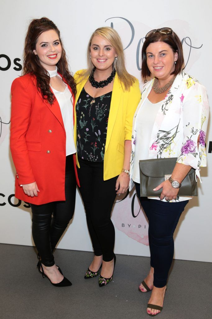 Eva Spitere,Niamh Huster and Donna Mannion at the opening of Pippa O'Connor's POCO by Pippa Pop Up shop at Mahon Point Shopping Centre, Cork. Picture: Brian McEvoy