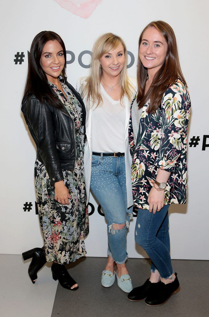 Aisling Campbell, Audrey O Meara and Kathy O Sullivan at the opening of Pippa O'Connor's POCO by Pippa Pop Up shop at Mahon Point Shopping Centre, Cork. Picture: Brian McEvoy