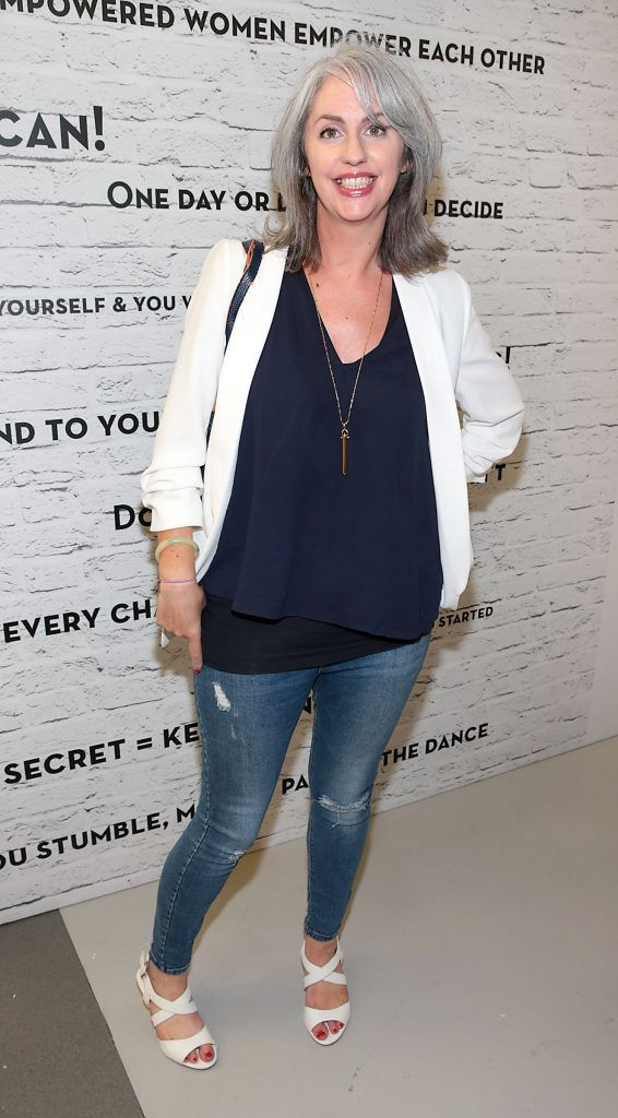 Marguerite Kiely at the opening of Pippa O'Connor's POCO by Pippa Pop Up shop at Mahon Point Shopping Centre, Cork. Picture: Brian McEvoy