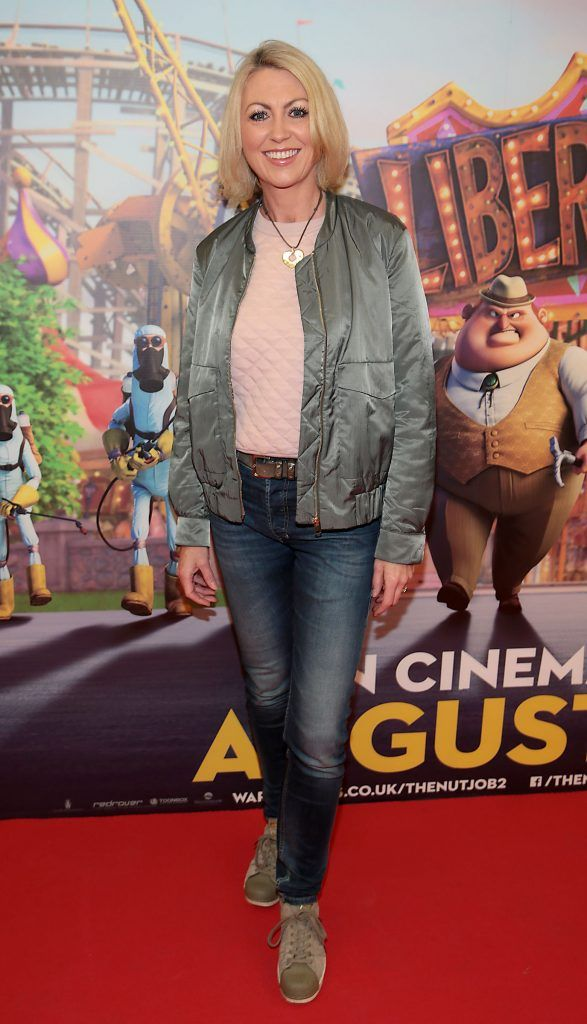 Olivia Fourneau at the special family preview screening of The Nut Job 2 at The Odeon Cinema in Point Village, Dublin. Picture by Brian McEvoy