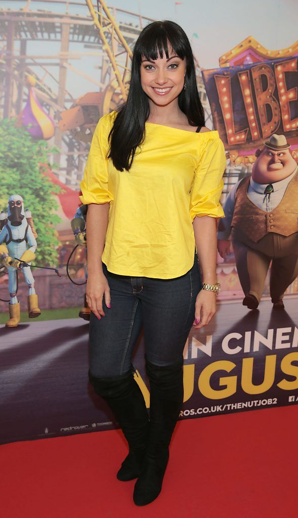 Olivia Hogan at the special family preview screening of The Nut Job 2 at The Odeon Cinema in Point Village, Dublin. Picture by Brian McEvoy