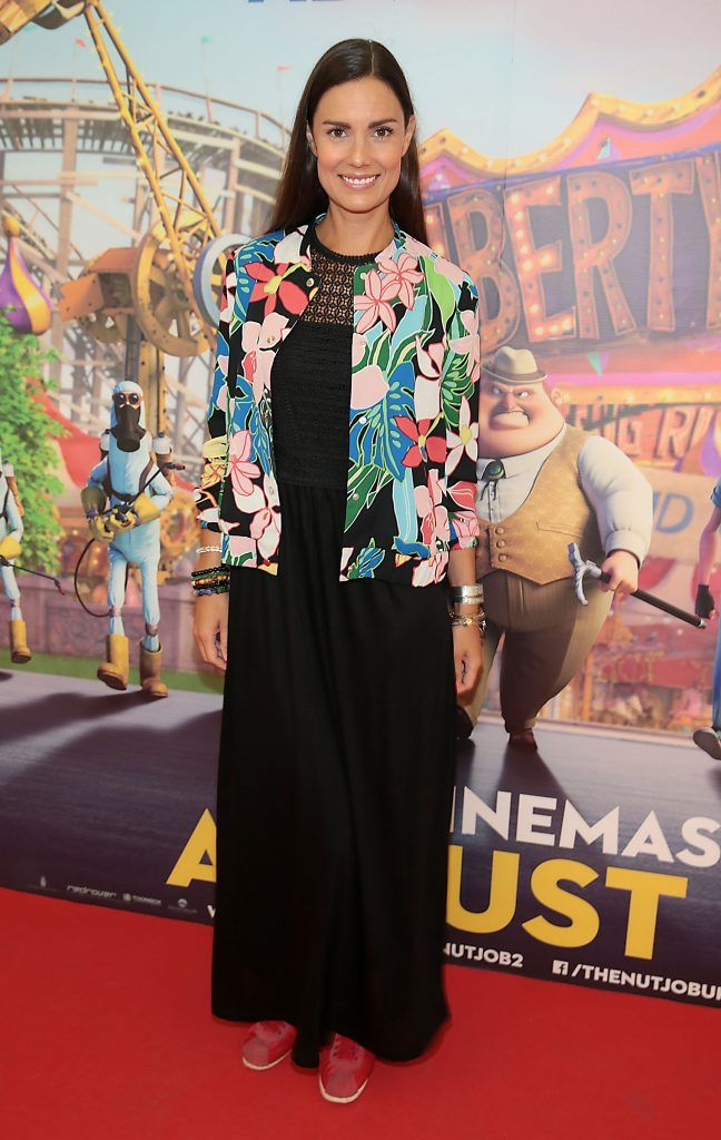 Alison Canavan at the special family preview screening of The Nut Job 2 at The Odeon Cinema in Point Village, Dublin. Picture by Brian McEvoy