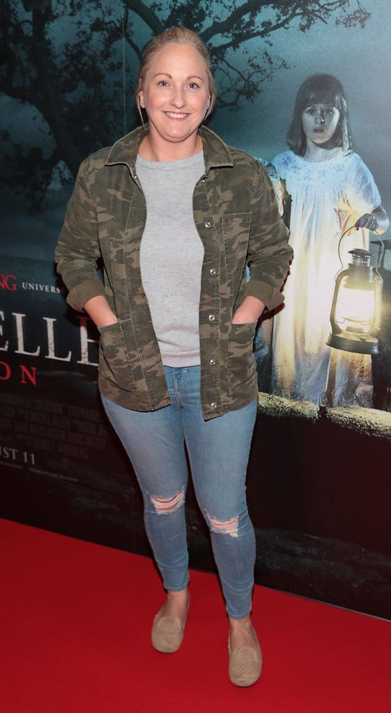Niamh Reddy at the special preview screening of Annabelle: Creation at Cineworld, Dublin. Picture: Brian McEvoy