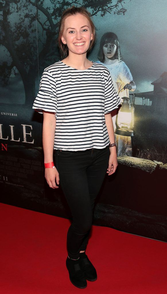 Gemma Stack at the special preview screening of Annabelle: Creation at Cineworld, Dublin. Picture: Brian McEvoy