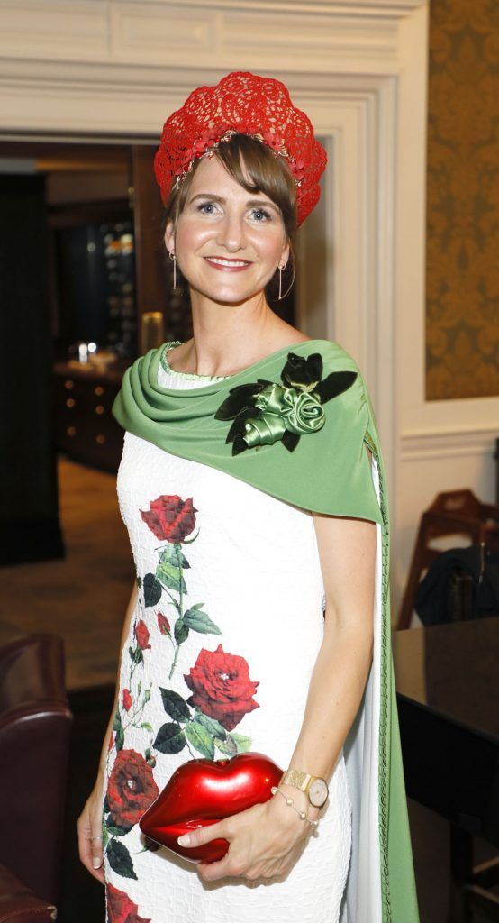 Paula Gannon at the Most Stylish Lady at The Shelbourne Hotel in association with IMAGE Magazine-photo Kieran Harnett
