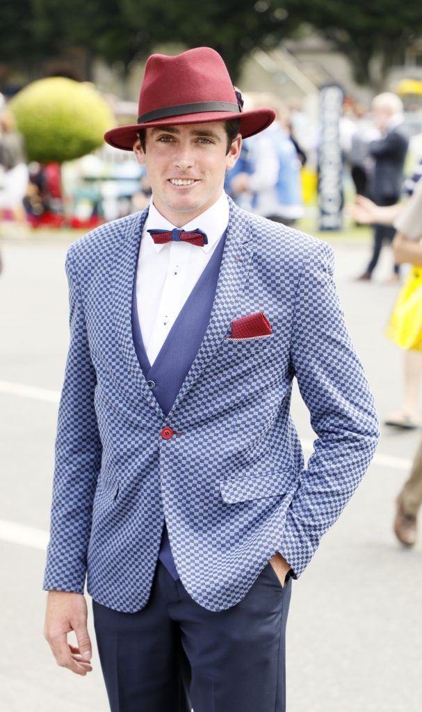 Blayne Sheehan at the Dundrum Town Centre Ladies Day at The Dublin Horse Show in the RDS -photo Kieran Harnett