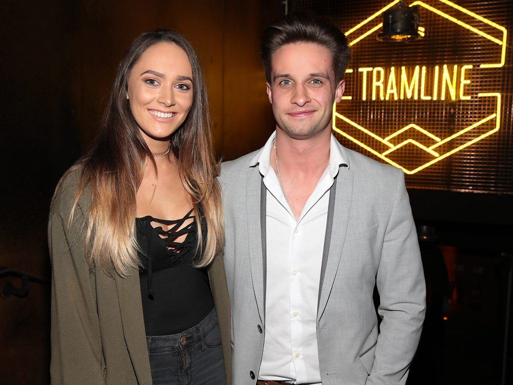 Sinead Whyte and Nico Hehir pictured at the opening of the new Tramline Venue on Hawkins Street, Dublin. Picture by Brian McEvoy