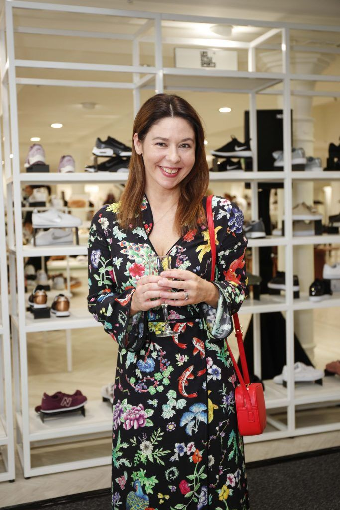 Jane McGowan at the Pippa O'Connor 'Step into Style' event in the newly opened Arnotts Shoe Gallery. Picture: Conor McCabe Photography.