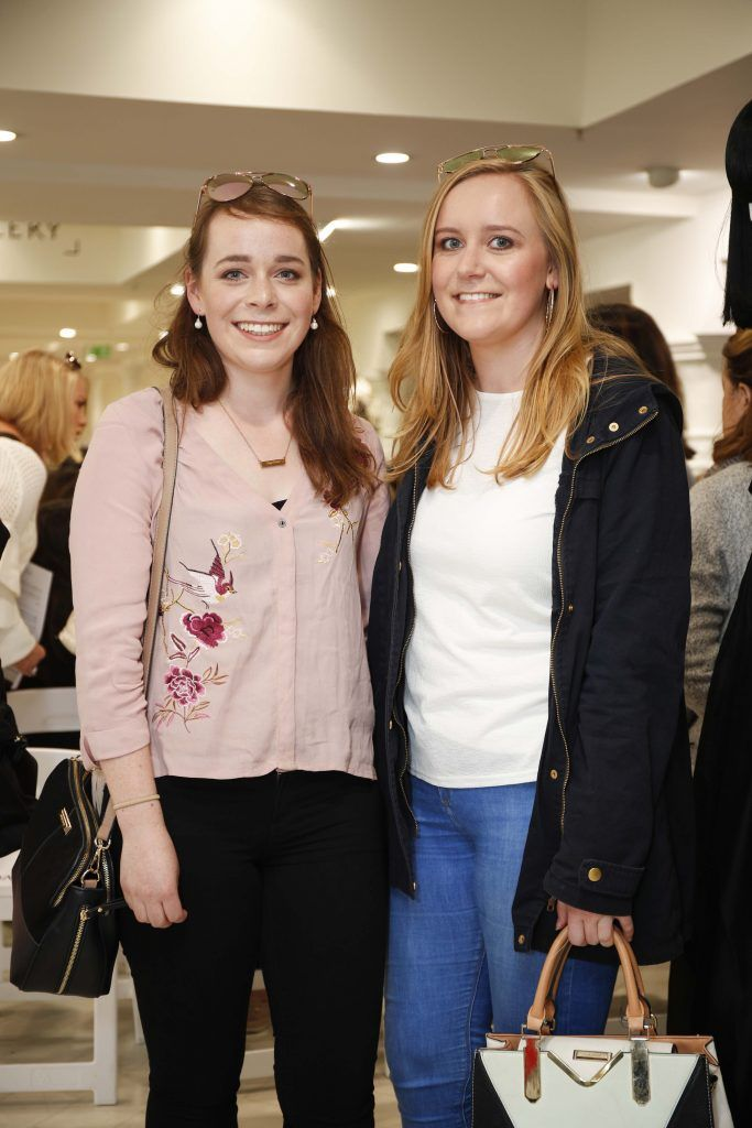 Valerie and Wendy Walker at the Pippa O'Connor 'Step into Style' event in the newly opened Arnotts Shoe Gallery. Picture: Conor McCabe Photography.