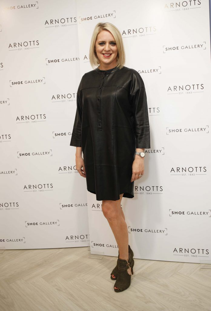 Pictured was Jen Stevens ahead of the 'Step into Style' event in the newly opened Arnotts Shoe Gallery. Picture: Conor McCabe Photography