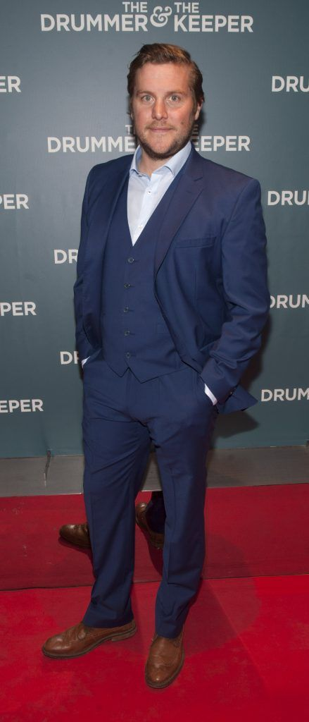 Peter Coonan at the Irish premiere of The Drummer & The Keeper at the Light House Cinema, Smithfield. Photo by Patrick O'Leary
