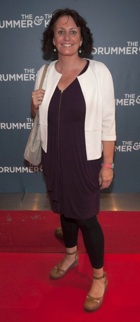 Enda Wyley at the Irish premiere of The Drummer & The Keeper at the Light House Cinema, Smithfield. Photo by Patrick O'Leary