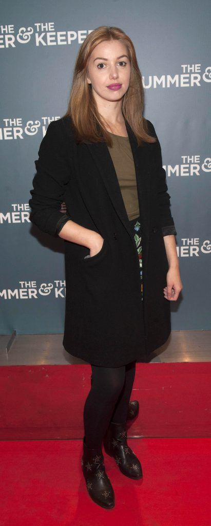 Seana Kerslake at the Irish premiere of The Drummer & The Keeper at the Light House Cinema, Smithfield. Photo by Patrick O'Leary