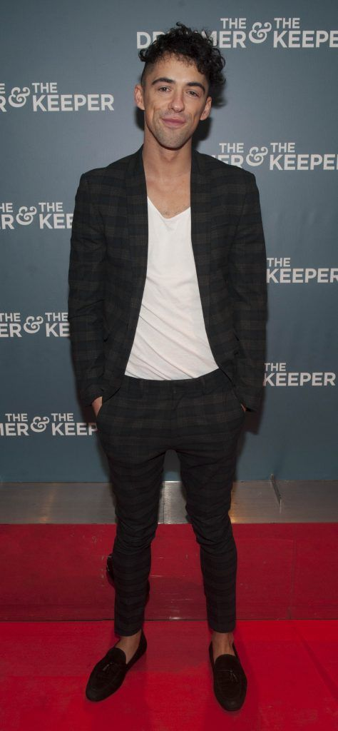 Dermot Murphy at the Irish premiere of The Drummer & The Keeper at the Light House Cinema, Smithfield. Photo by Patrick O'Leary