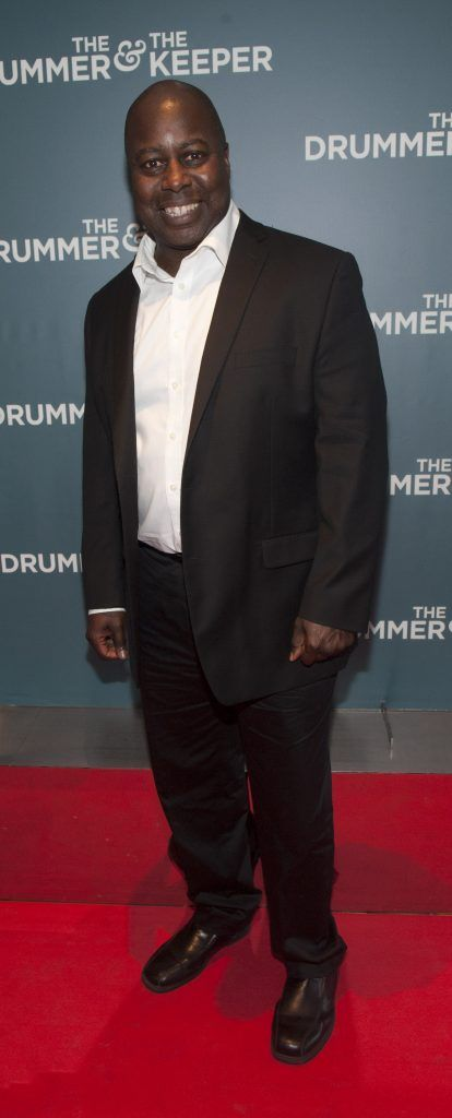 Ralph Rolle (drummer with Chic) at the Irish premiere of The Drummer & The Keeper at the Light House Cinema, Smithfield. Photo by Patrick O'Leary