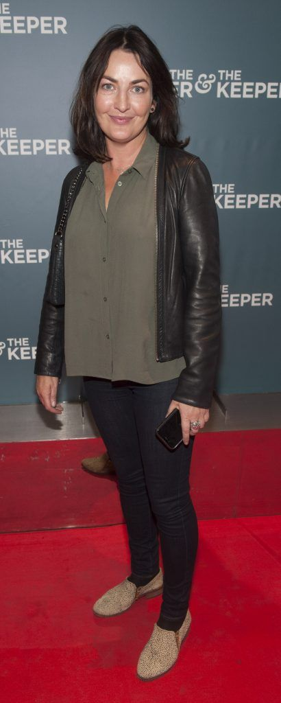 Ciara O'Callaghan at the Irish premiere of The Drummer & The Keeper at the Light House Cinema, Smithfield. Photo by Patrick O'Leary