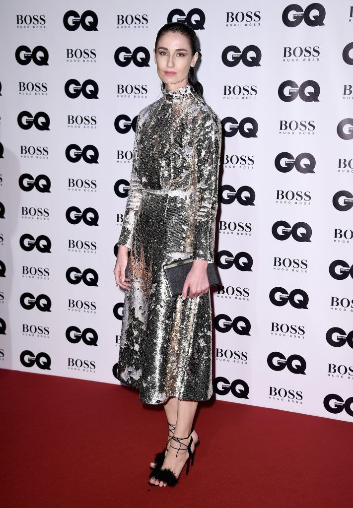 Erin O'Connor attends the GQ Men Of The Year Awards at the Tate Modern on September 5, 2017 in London, England.  (Photo by Gareth Cattermole/Getty Images)