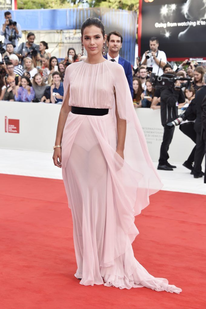 Bruna Marquezine walks the red carpet ahead of the 'Suburbicon' screening during the 74th Venice Film Festival at Sala Grande on September 2, 2017 in Venice, Italy.  (Photo by Pascal Le Segretain/Getty Images)