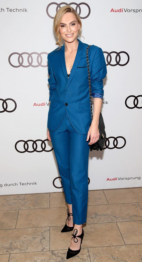 Sarah Morrissey pictured at the all new Audi A8 launch at the RHA Gallery, Dublin. Photo by Brian McEvoy