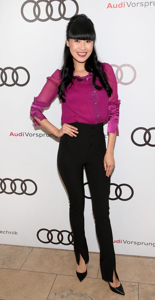 Yomiko Chen pictured at the all new Audi A8 launch at the RHA Gallery, Dublin. Photo by Brian McEvoy