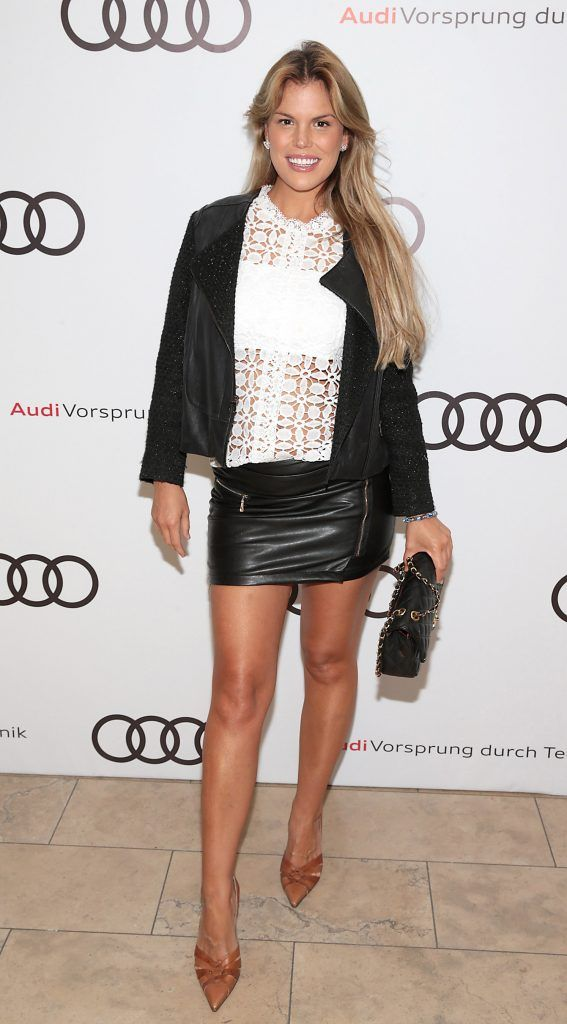 Rosalind Lipsett pictured at the all new Audi A8 launch at the RHA Gallery, Dublin. Photo by Brian McEvoy