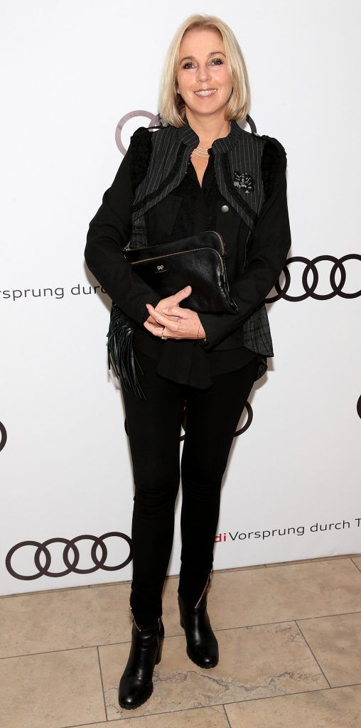 Kathy Kenny pictured at the all new Audi A8 launch at the RHA Gallery, Dublin. Photo by Brian McEvoy