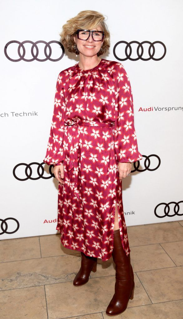 Sonya Lennon pictured at the all new Audi A8 launch at the RHA Gallery, Dublin. Photo by Brian McEvoy