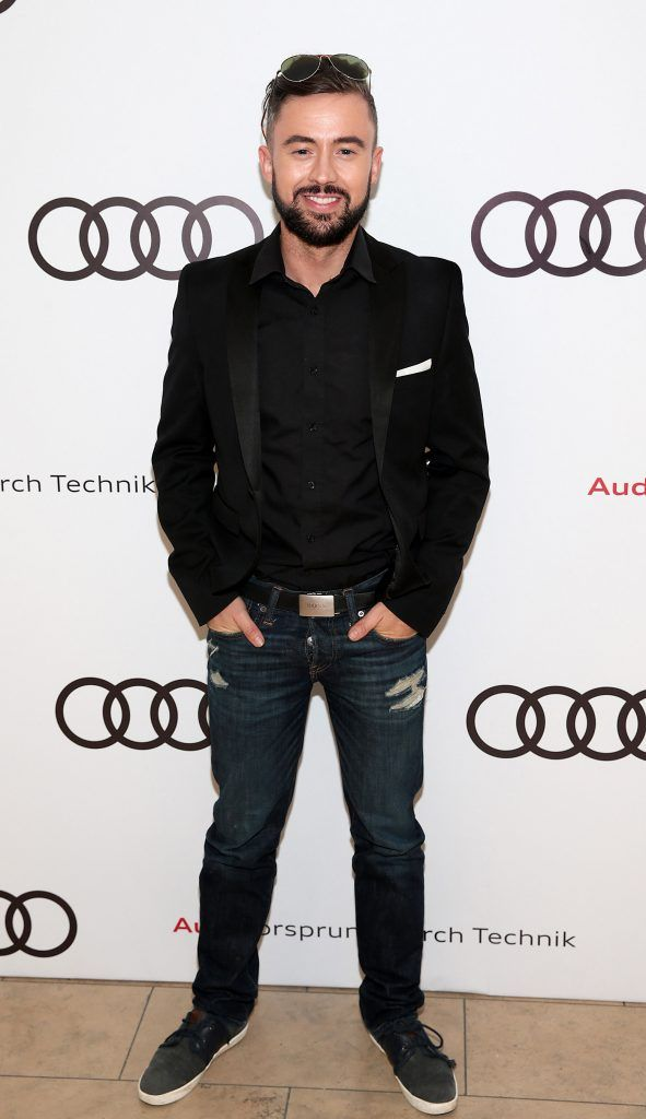 Deric Hartigan pictured at the all new Audi A8 launch at the RHA Gallery, Dublin. Photo by Brian McEvoy