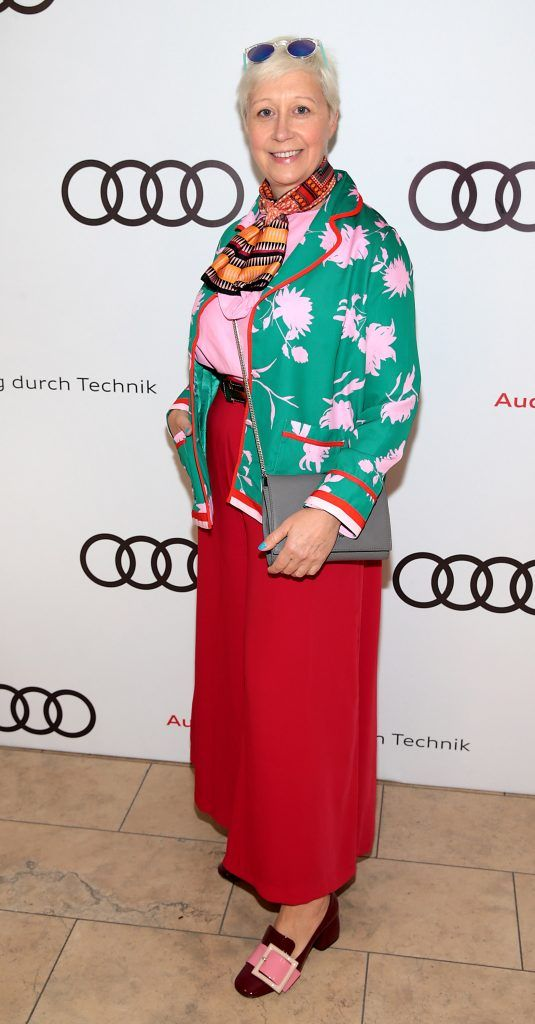 Sonja Mohlich pictured at the all new Audi A8 launch at the RHA Gallery, Dublin. Photo by Brian McEvoy