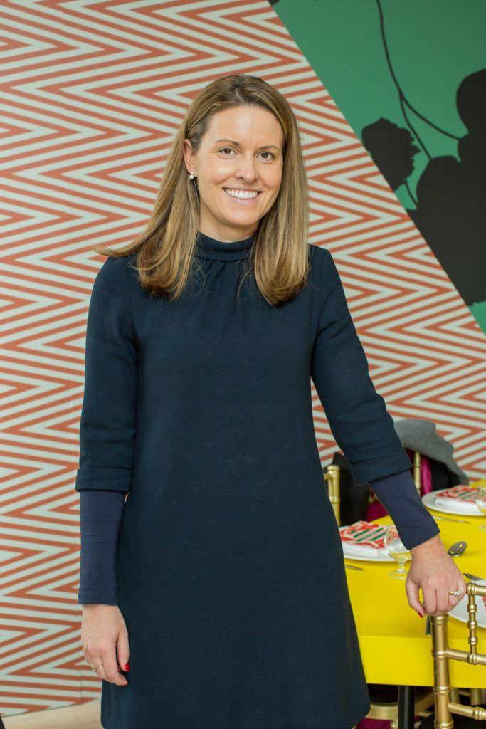 Sarah Williams pictured at Jo Malone London #CrazyColourfulChristmas Press Launch in The Morrison Hotel Dublin. Photo Sean Cahill