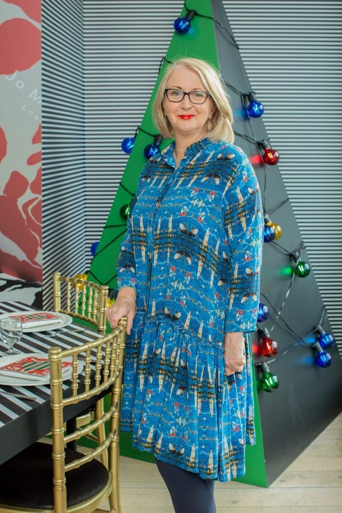 Bairbre Power pictured at Jo Malone London #CrazyColourfulChristmas Press Launch in The Morrison Hotel Dublin. Photo Sean Cahill